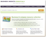 Gale's Business Insights Essentials