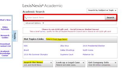 Lexis news