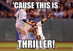 Baseball thriller